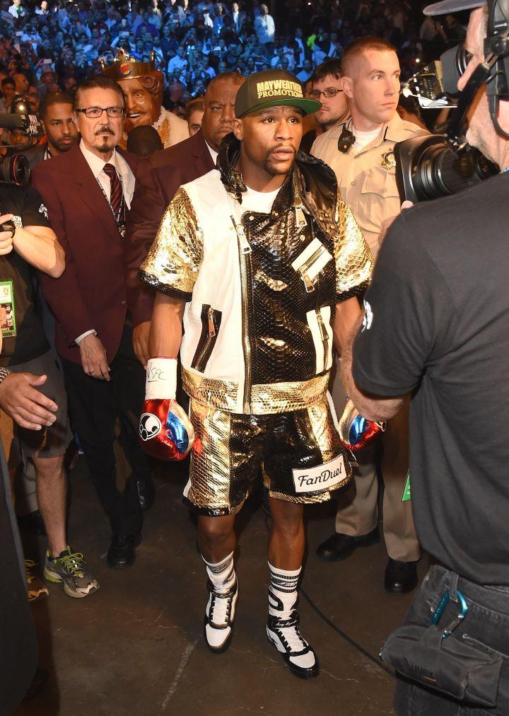 The champ!