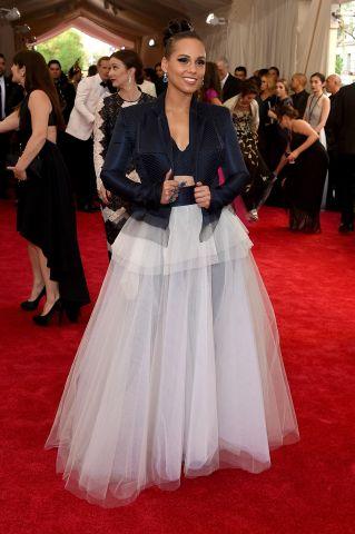 Celebrities Arrive At MET Gala 2015