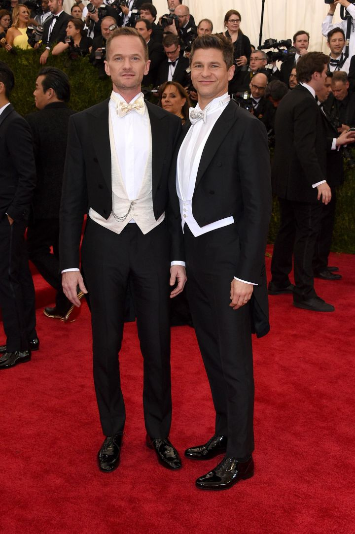 Neil Patrick Harris and his husband