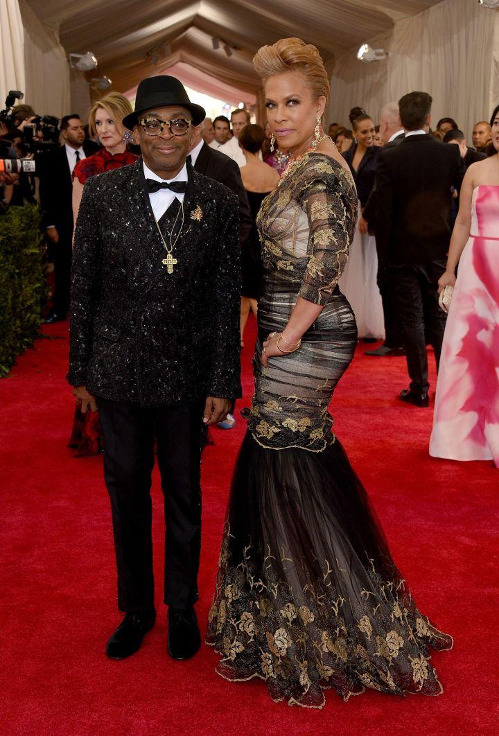 Spike Lee and Tonya Lewis Lee