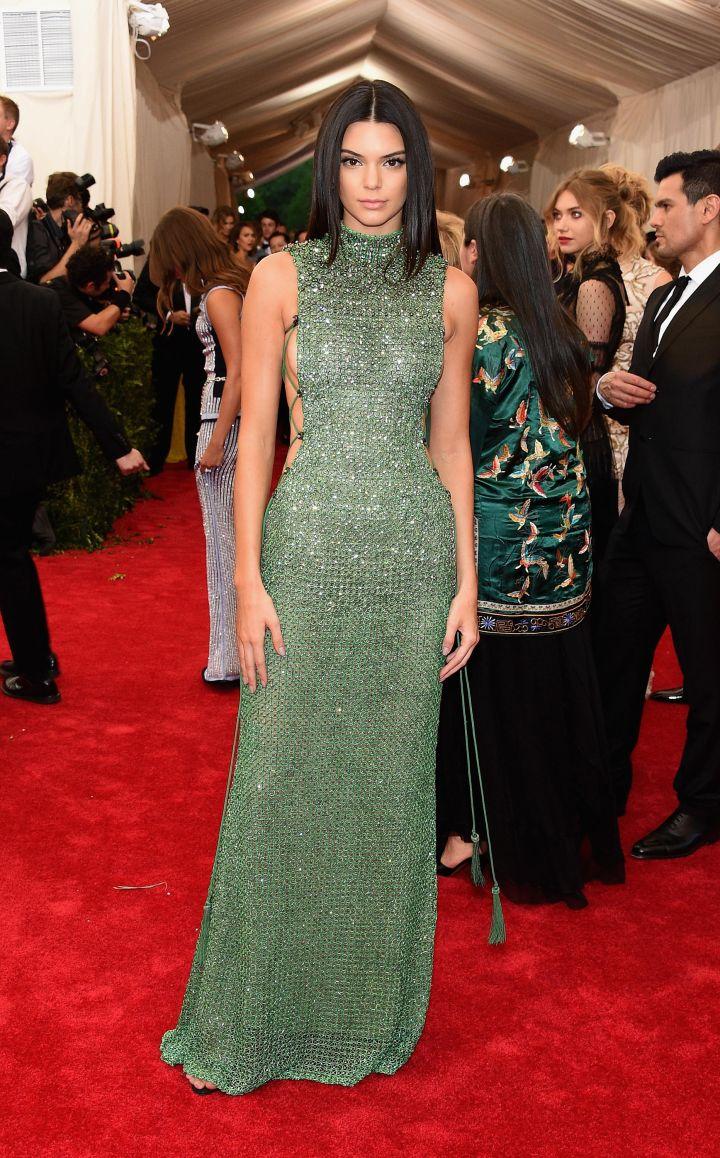 Kendall Jenner in Calvin Klein.