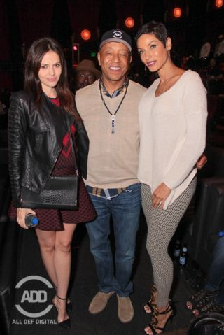 Celebrities Attend All Def Comedy Live - Russell Simmons & Nicole Murphy