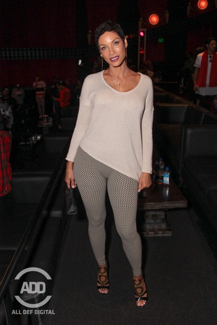 Nicole Murphy was in the building.