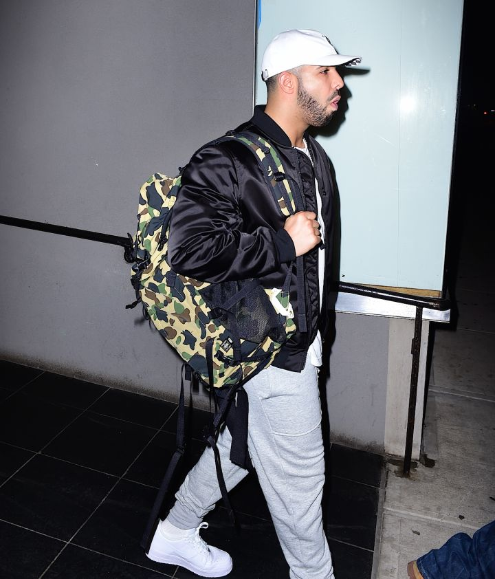 Together again? Drake was spotted collaborating with Rihanna again; their second meeting in two days.