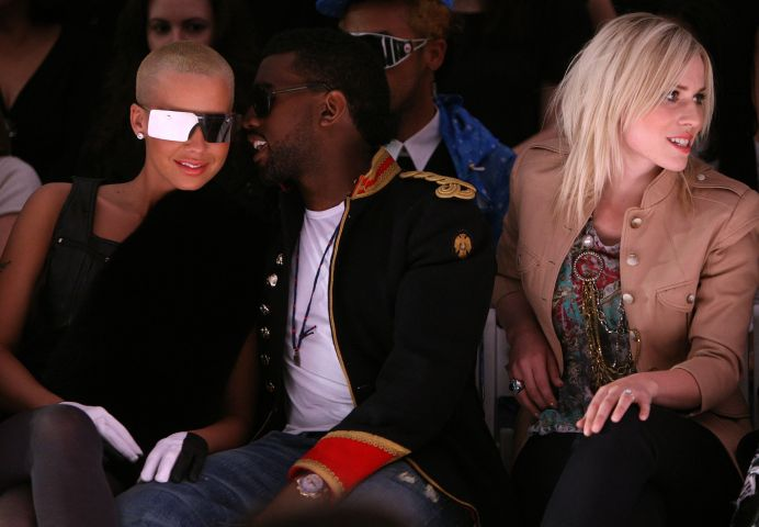 Kanye West & Amber Rose