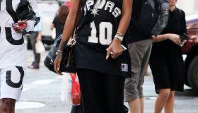 Rihanna spotted in Soho NYC 2015