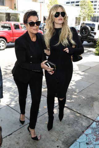 Khloe Kardashian and Kris Jenner in Los Angeles