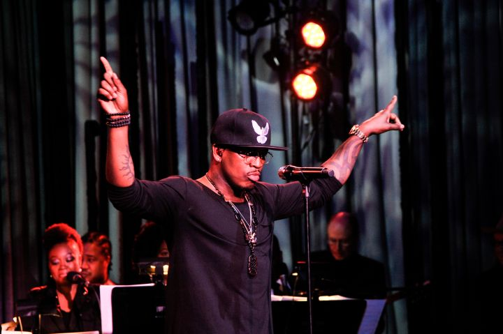 Ne-Yo performs during the 7th Annual 'We Write The Songs' Concert at the Library of Congress in D.C.