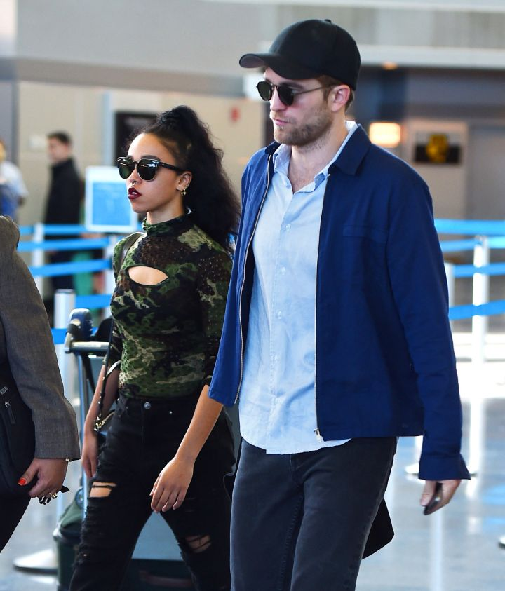 The couple that stunts in shades together.