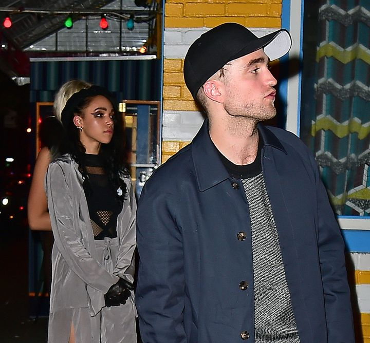 The couple that hits up a male strip club in NYC together.