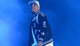 Chris Brown Performs in Joburg