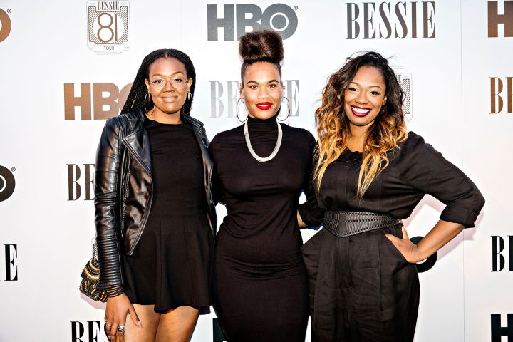 """Trio KING On The HBO's Bessie """"81 Tour"""" Red Carpet In Los Angeles."""