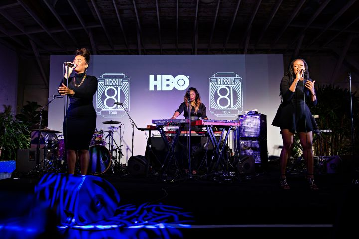 """Trio KING Performs At HBO's Bessie """"81 Tour"""" In Los Angeles."""