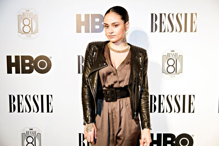 """Kehlani On The HBO's Bessie """"81 Tour"""" Red Carpet In Los Angeles."""