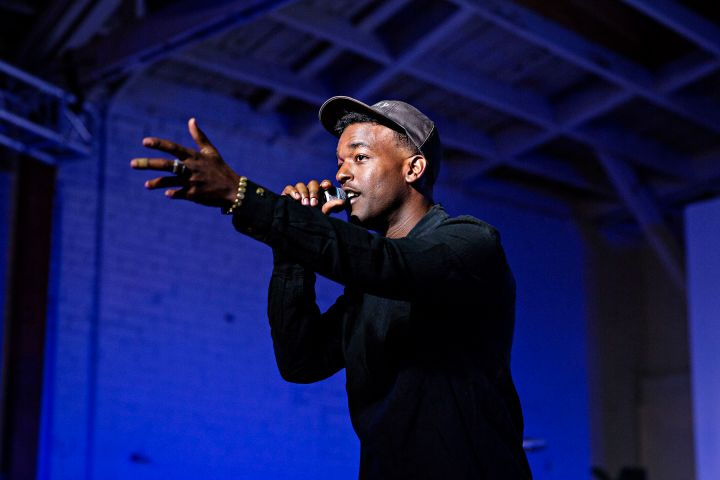 """Luke James Performs At HBO's Bessie """"81 Tour"""" In Los Angeles."""