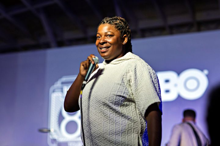 """Tiffany Gouche Performs At HBO's Bessie """"81 Tour"""" In Los Angeles."""