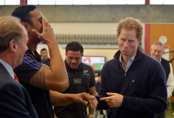 Prince Harry Visits New Zealand - Day 7