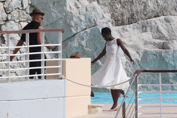 Lupita Nyong'o spotted in Cannes