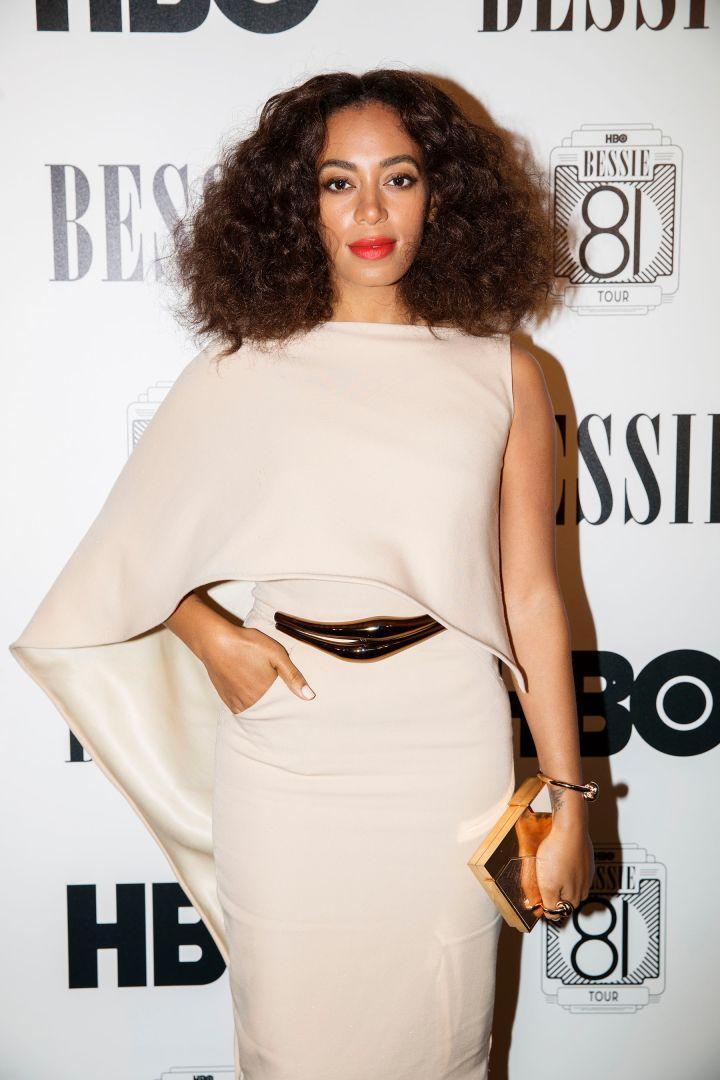 "Solange Graces The HBO ""Bessie 81 Tour"" Red Carpet."