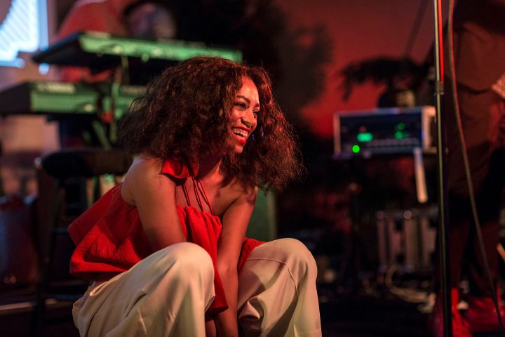 """Solange Performing At HBO's """"Bessie 81 Tour"""" In Los Angeles"""