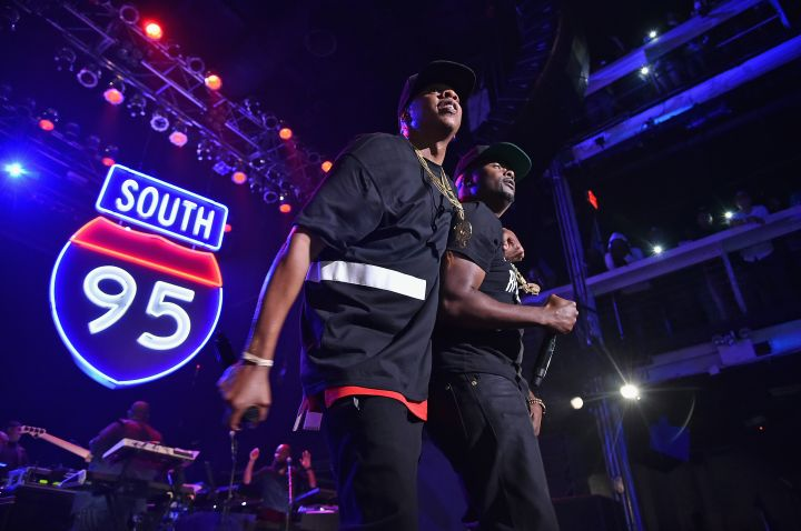 Jay Z brings out Memphis Bleek