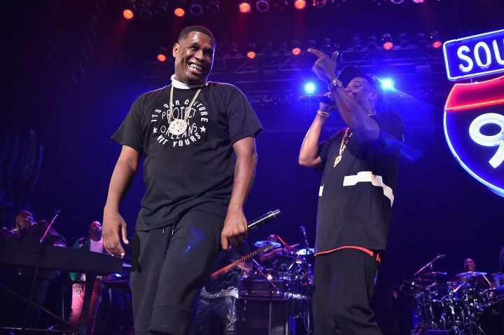 Jay Z brings out Jay Electronica
