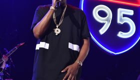 Jay-Z performs during TIDAL X Jay-Z B-Sides in NYC May 16