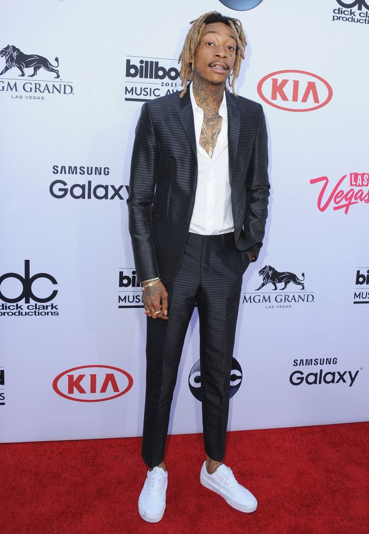 Leave it to Wiz Khalifa to keep it somewhat casual.