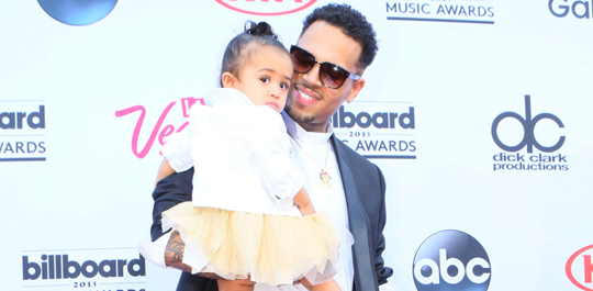 Chris Brown loves his daughter Royalty so much he named an album after her.
