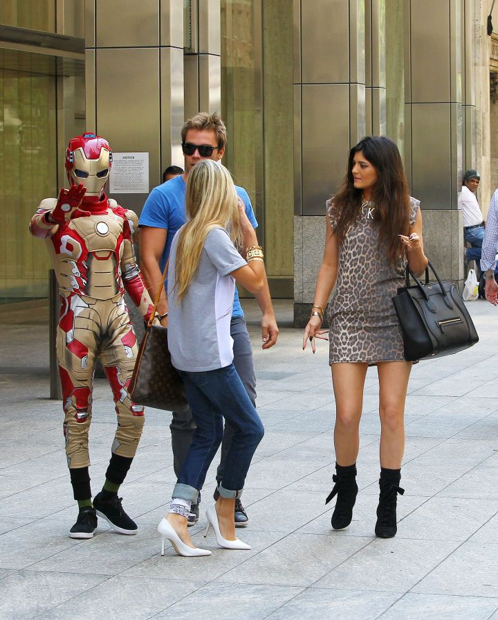 Jaden Smith dressed up as Iron Man while on a date with the old Kylie Jenner.