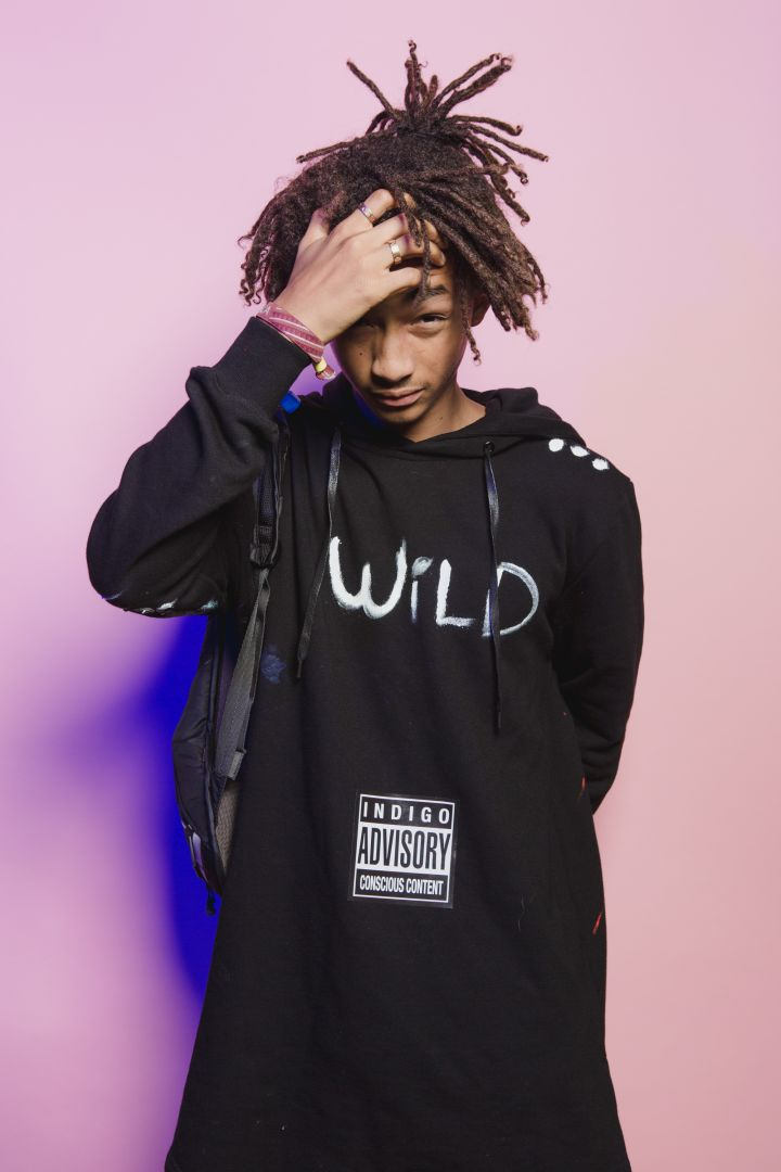 Jaden Smith being a wild boy.