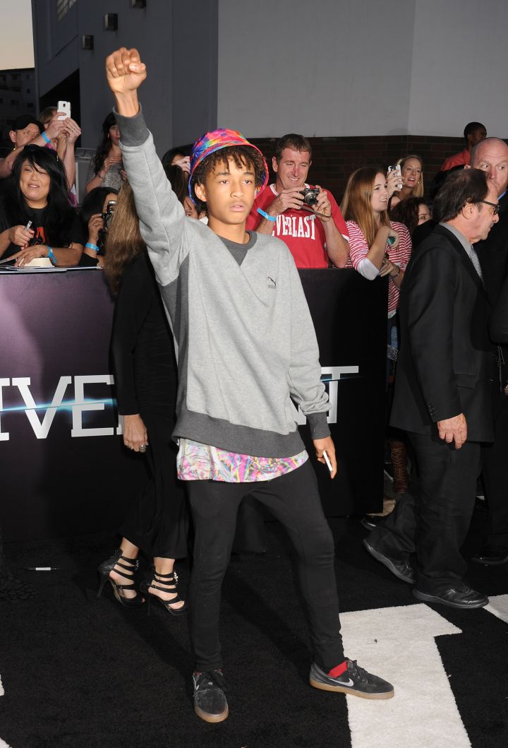 Jaden Smith promoting Black Power.