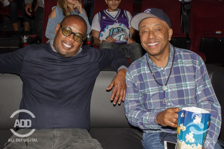 Andre Harrell and Russell Simmons sit down to enjoy this week's All Def Comedy Live presented by Russell Simmons & Celsius, Powered by The Brand Group in Los Angeles.