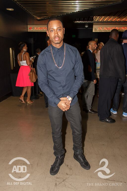 Terrence J took a break from rubbing shoulders with Hollywood's biggest names to enjoy some laughs at All Def Comedy.