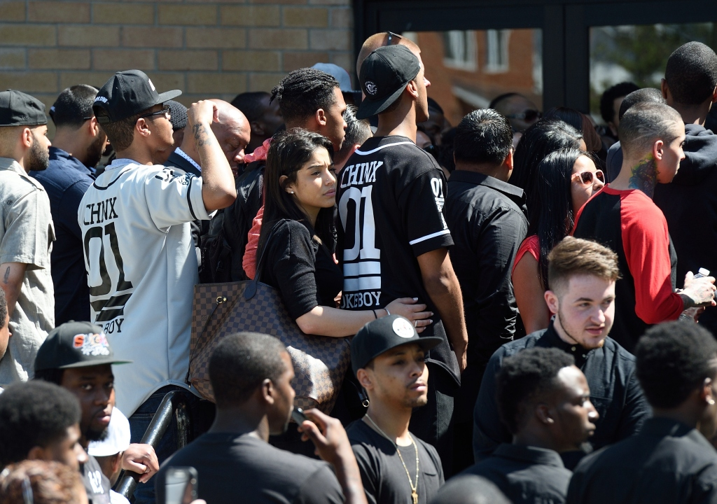 Loved ones gather at Chinx's funeral in Queens