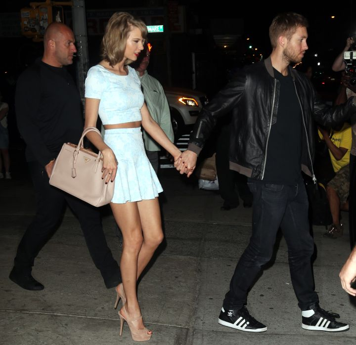 Taylor Swift and Calvin Harris were boo'd up last night in New York City.