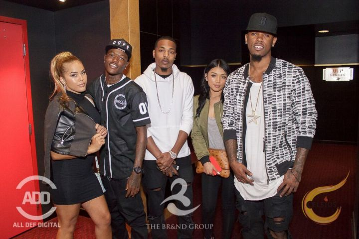 Daniel Booby Gibson and friends enjoyed themselves as well.