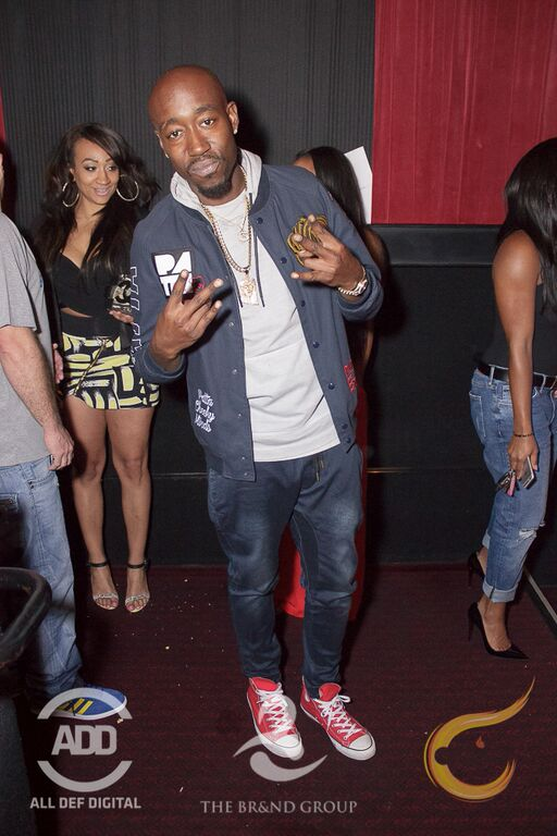 Freddie Gibbs was spotted in VIP.