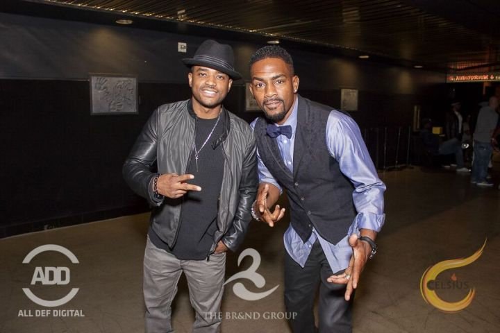 Bill Bellamy and Lorenz Tate shared laughs throughout the night.