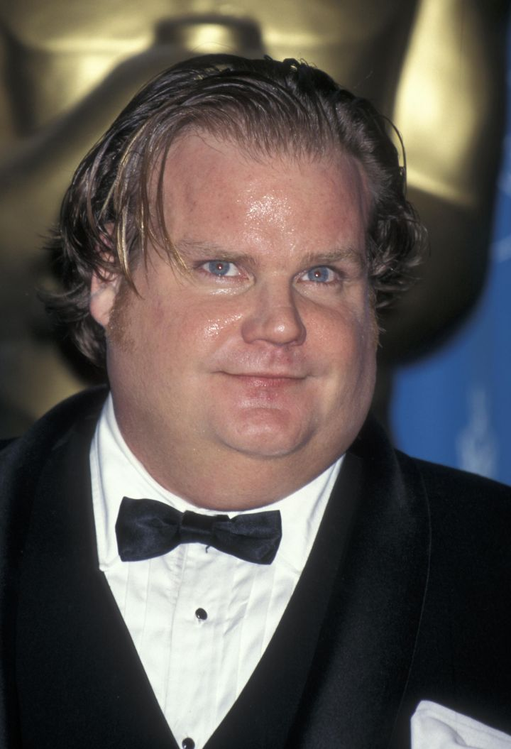 Chris Farley (age 33): Died in 1997 from cocaine intoxication and morphine overdose.