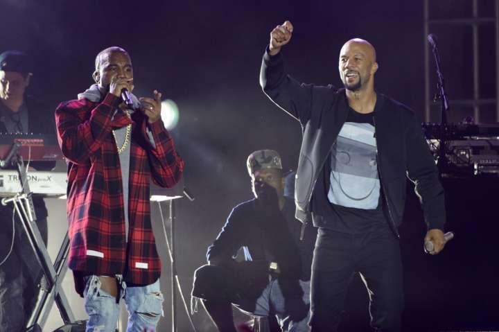 Kanye West & Common