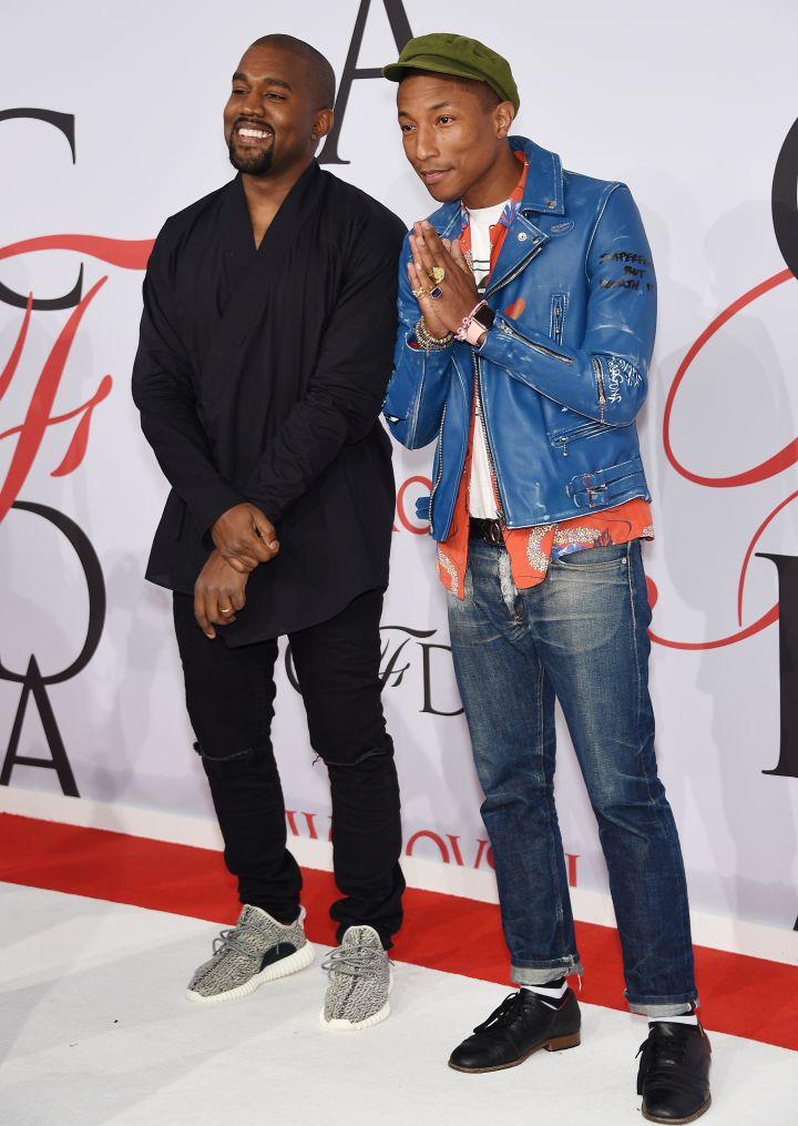 Kanye West and Pharrell