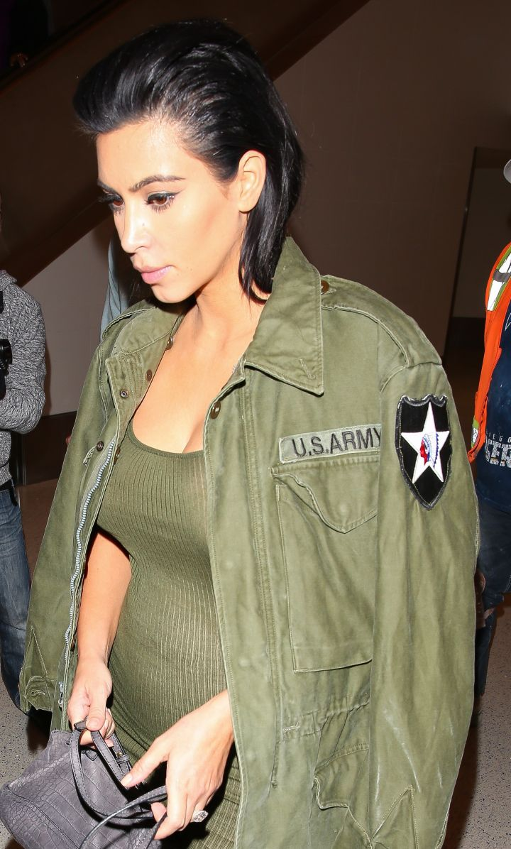 Kim is pregnant with baby number two!