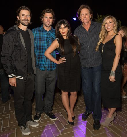 Kim Kardashian pregnant - Brandon And Leah Album Release Party For 'Cronies'