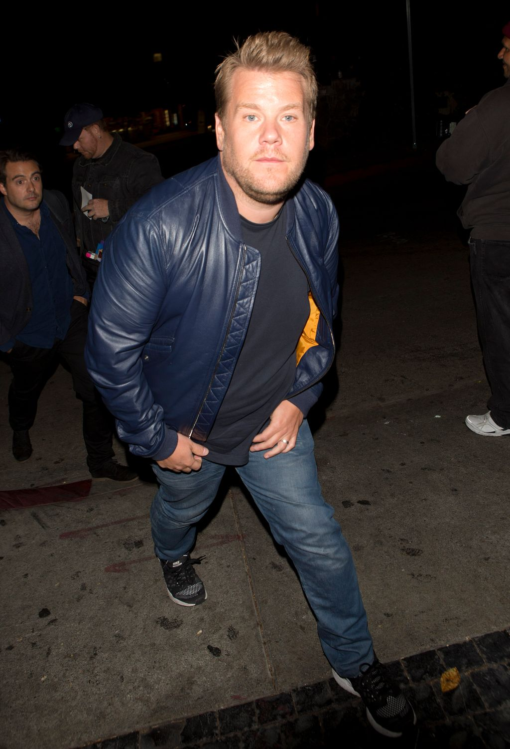 James Corden arrives at Chateau Marmont hotel