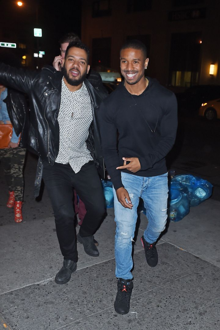 Michael B. Jordan was spotted looking as hunky as ever after a night of partying in NYC.