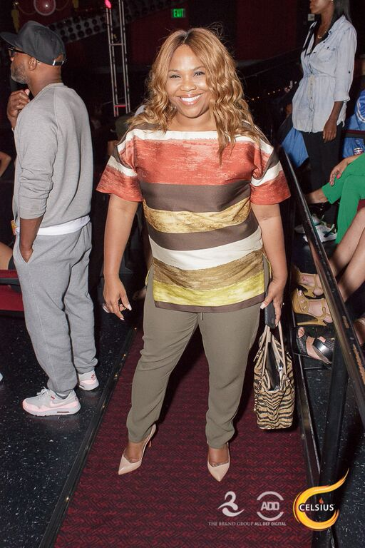 Mona Scott-Young killin' it at All Def Comedy Live presented by Celsius.