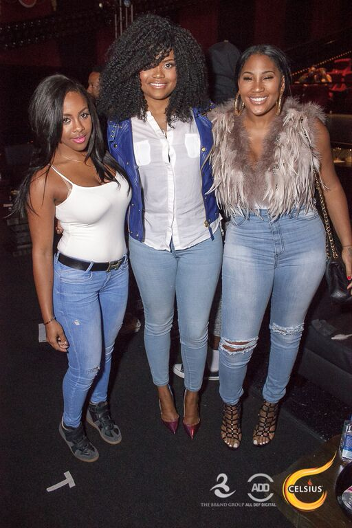 Miss Diddy, Karen Civil, and Ming Lee all made an appearance too.