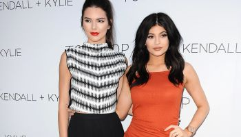 Kendall + Kylie Fashion Line Launch Party At Topshop