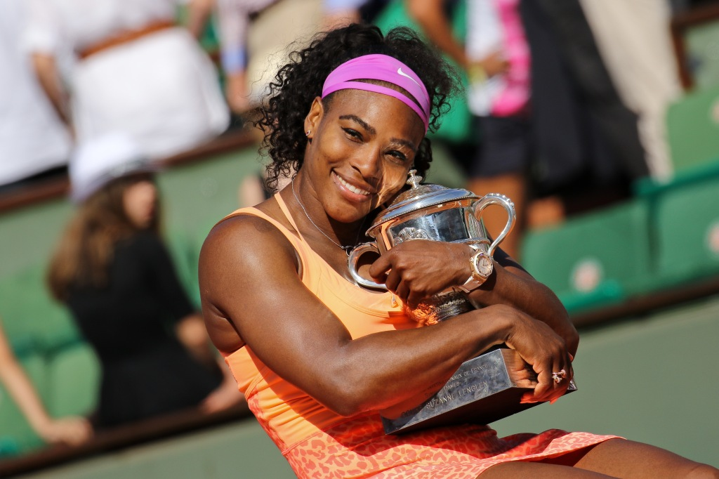 Serena Williams Win the Women's Singles Final at 2015 French Open